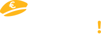 Logo Captain Achat avec baseline avec texte en blanc