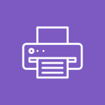 Icône imprimante