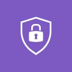 Icône sécurité informatique